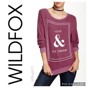 NWOT Wildfox Love & Ice Cream BBJ